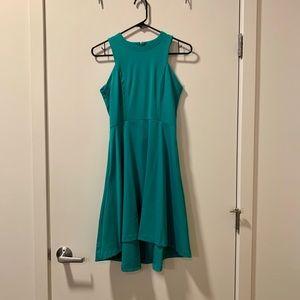 Banana Republic Green High Neck Dress - Size 0